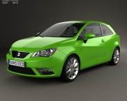 3D model of Seat Ibiza SC 2013