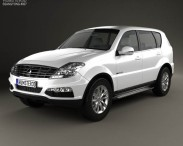 3D model of SsangYong Rexton 2012
