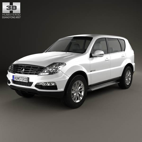 SsangYong Rexton 2012 3d model