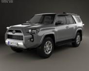 3D model of Toyota 4Runner 2013