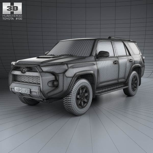 toyota 4runner 2013 3d model humster3d. Black Bedroom Furniture Sets. Home Design Ideas