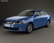 3D model of Volkswagen Lavida 2012
