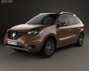 3D model of Renault Koleos 2014