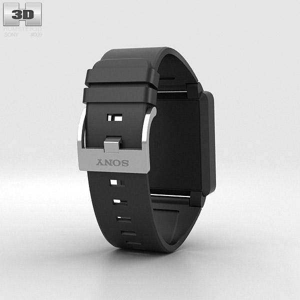Sony Smartwatch 2 3d model