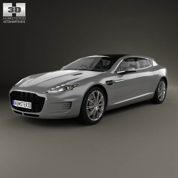 Aston Martin Rapide Bertone Jet 2+2 2013 3d car model