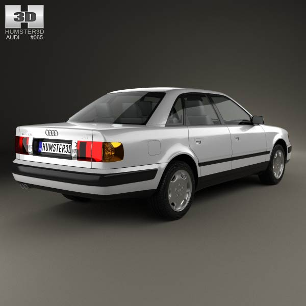 audi 100 c4 sedan 1991 3d model humster3d. Black Bedroom Furniture Sets. Home Design Ideas