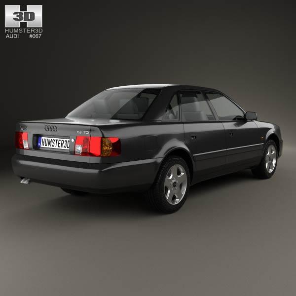 Audi A6 (C4) sedan 1994 3d model