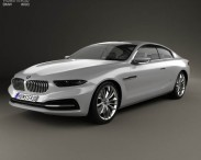 3D model of BMW Gran Lusso Coupe 2013