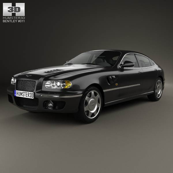 Bentley Rapier 1996 3d car model