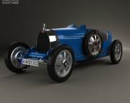 3D model of Bugatti Type 35 1924