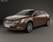 3D model of Buick LaCrosse (Allure) 2014