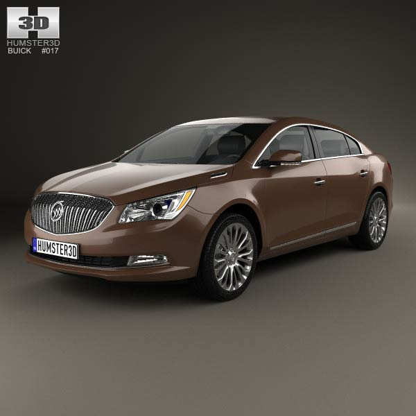 Buick LaCrosse (Allure) 2014 3d car model