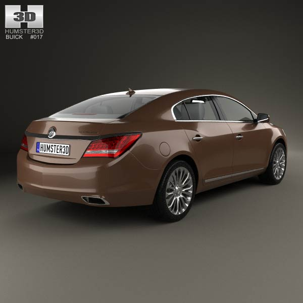 Buick LaCrosse (Allure) 2014 3d model