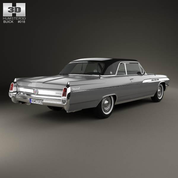 Buick Wildcat convertible 1963 3d model