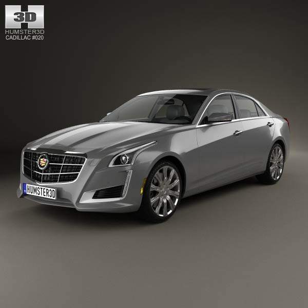 cadillac cts 2014 3d model humster3d. Cars Review. Best American Auto & Cars Review