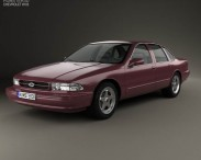 3D model of Chevrolet Impala SS 1995
