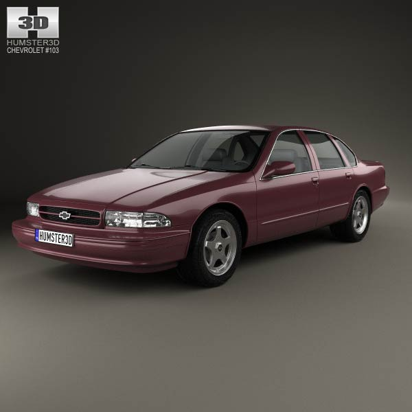 Chevrolet Impala SS 1995 3d car model