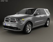 3D model of Dodge Durango RT 2014