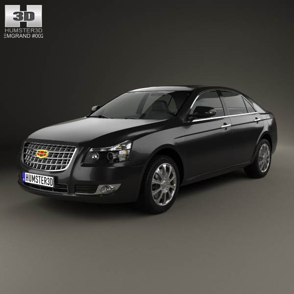 Emgrand EC8 2010 3d car model