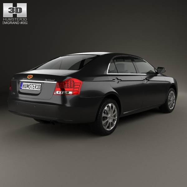 Emgrand EC8 2010 3d model