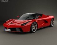 3D model of Ferrari F70 LaFerrari 2014