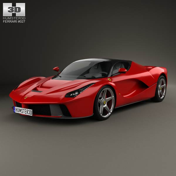 Ferrari F70 LaFerrari 2014 3d car model