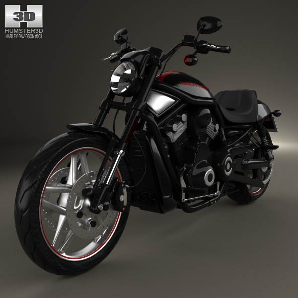 Harley-Davidson Night Rod Special 2013 3d car model