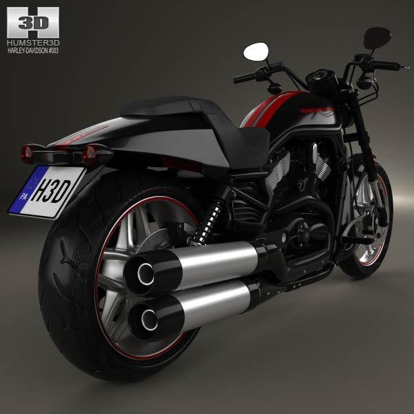 Harley-Davidson Night Rod Special 2013 3d model
