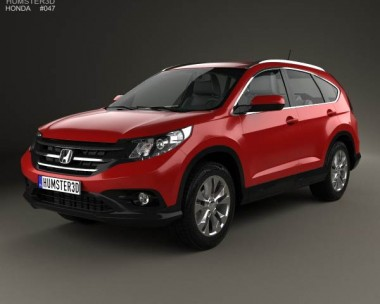 3D model of Honda CR-V EU 2012