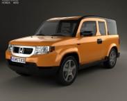 3D model of Honda Element EX 2008