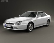 3D model of Honda Prelude (BB5) 1997