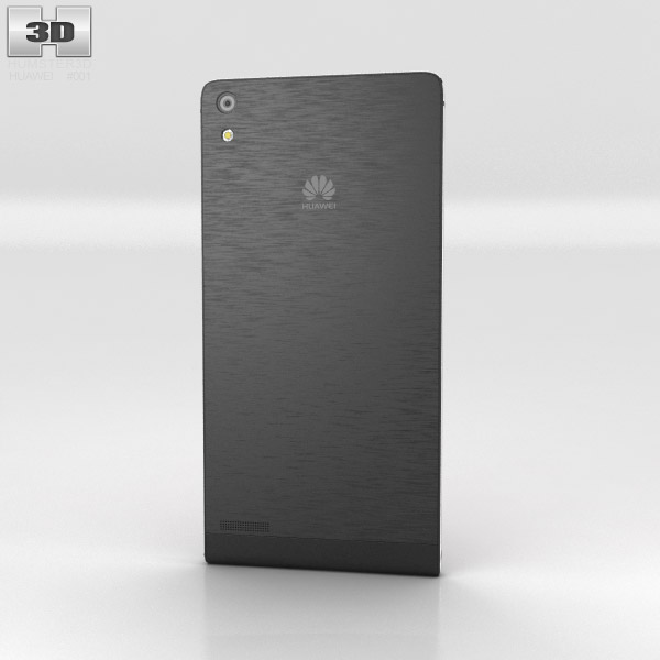 Huawei Ascend P6 Black 3d model