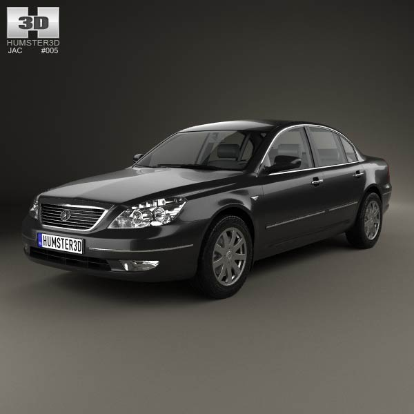 JAC Binyue J7 2007 3d car model