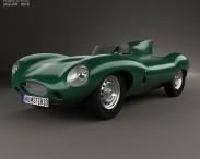 3D model of Jaguar D-Type 1955