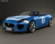 3D model of Jaguar Project 7 2013