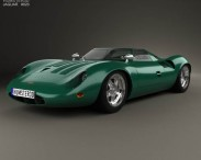 3D model of Jaguar XJ13 1966