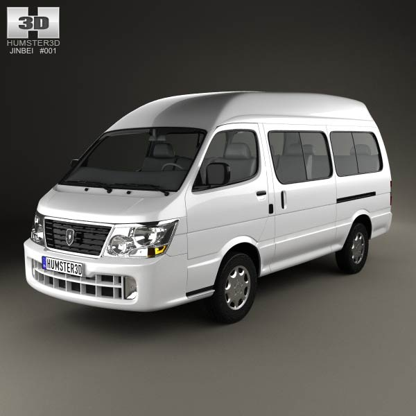 Jinbei Topic 2012 3d car model