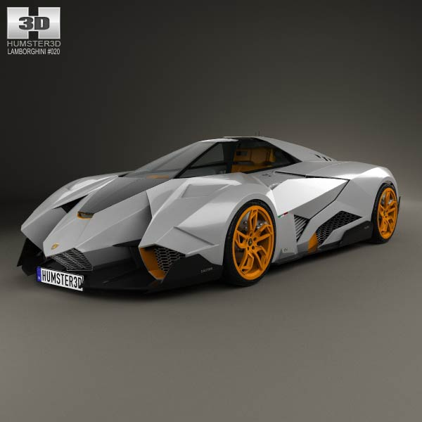 Lamborghini Egoista 2013 3d car model