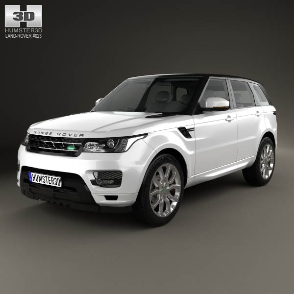Land Rover Range Rover Sport Autobiography 2013 3d car model