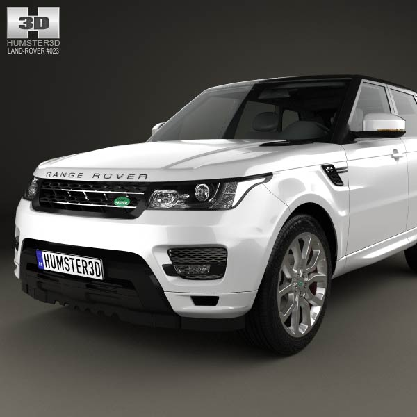 land rover range rover sport autobiography 2013 3d model. Black Bedroom Furniture Sets. Home Design Ideas