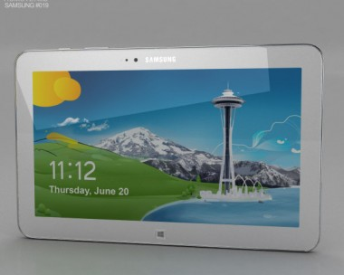 3D model of Samsung Ativ Tab 3