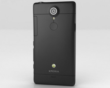3D model of Sony Xperia TL