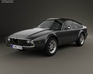 3D model of Alfa Romeo GT 1300 Junior Zagato 1972