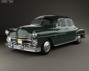 3D model of Dodge Coronet sedan 1950