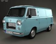 3D model of Fiat 600 T 1967