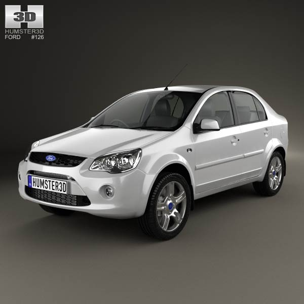 Ford Ikon 2012 3d car model