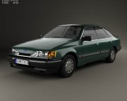 3D model of Ford Scorpio hatchback 1985