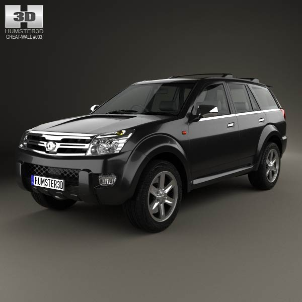 Great Wall Hover (Haval) H3 2010 3d car model
