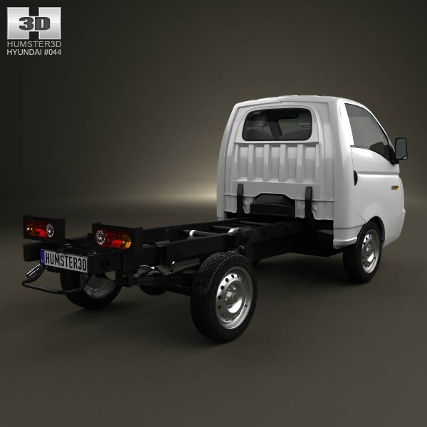 Hyundai HR (Porter) Chassis Truck 2013 3d model