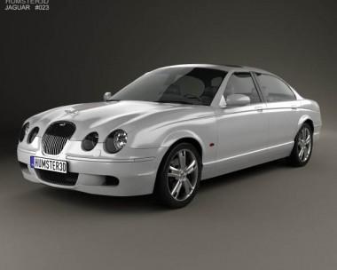 3D model of Jaguar S-Type 2008